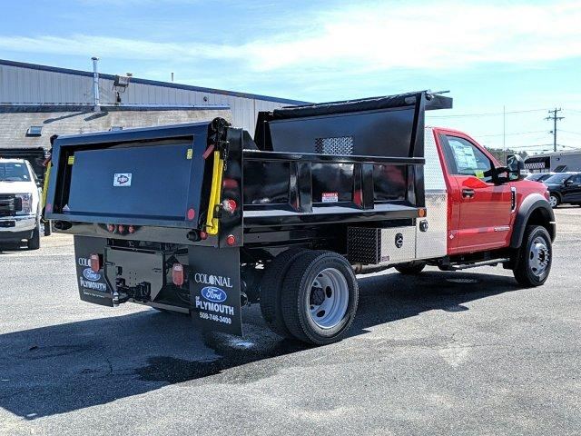 2019 F-550 Regular Cab DRW 4x4, Iroquois Dump Body #N9025 - photo 2