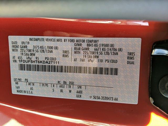 2019 F-550 Regular Cab DRW 4x4, Iroquois Dump Body #N9025 - photo 21