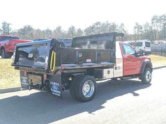 2019 Ford F-550 Regular Cab DRW 4x4, Iroquois Brave Series Steel Dump Body #N9051 - photo 2