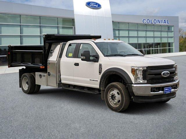 2019 F-550 Super Cab DRW 4x4, Air-Flo Pro-Class Dump Body #N9052 - photo 1