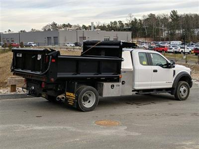 2019 F-550 Super Cab DRW 4x4, Air-Flo Pro-Class Dump Body #N9052 - photo 2