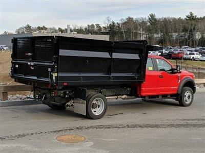 2019 Ford F-550 Super Cab DRW 4x4, Rugby Landscape Dump #N9093 - photo 2