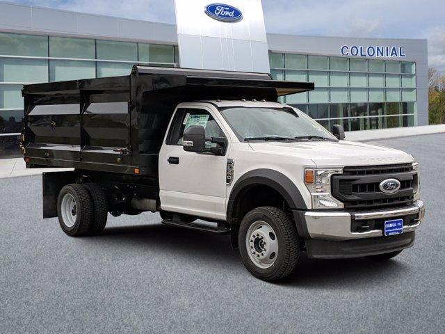 2020 Ford F-550 Regular Cab DRW 4x4, Rugby Landscape Dump #N9095 - photo 1