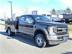 2020 Ford F-550 Crew Cab DRW 4x4, Reading Classic II Aluminum  Service Body #N9105 - photo 1