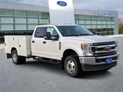 2020 Ford F-350 Crew Cab DRW 4x4, Reading Classic II Aluminum  Service Body #N9111 - photo 1