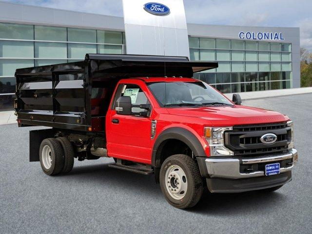 2020 Ford F-550 Regular Cab DRW 4x4, Rugby Landscape Dump #N9152 - photo 1