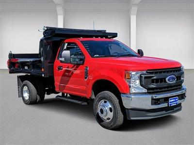 2020 Ford F-350 Regular Cab DRW 4x4, Reading Marauder Drop-Side Dump Body #N9170 - photo 1