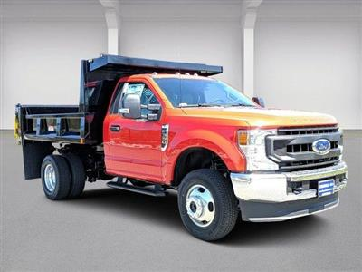 2020 Ford F-350 Regular Cab DRW 4x4, Iroquois Brave Series Steel Dump Body #N9184 - photo 1