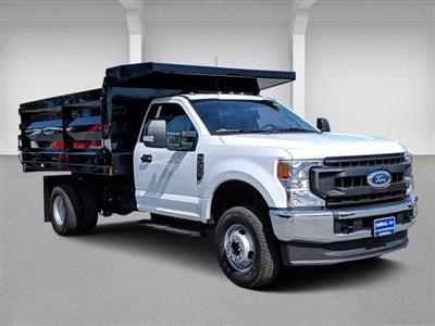 2020 Ford F-350 Regular Cab DRW 4x4, Rugby Landscape Dump #N9191 - photo 1