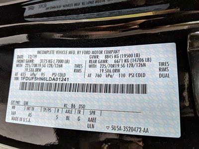 2020 Ford F-550 Regular Cab DRW 4x4, Iroquois Brave Series Steel Dump Body #N9196 - photo 17