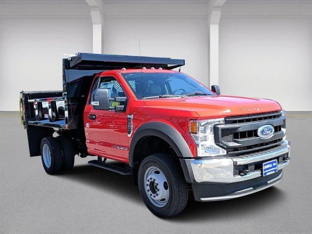 2020 Ford F-550 Regular Cab DRW 4x4, Iroquois Brave Series Steel Dump Body #N9197 - photo 1