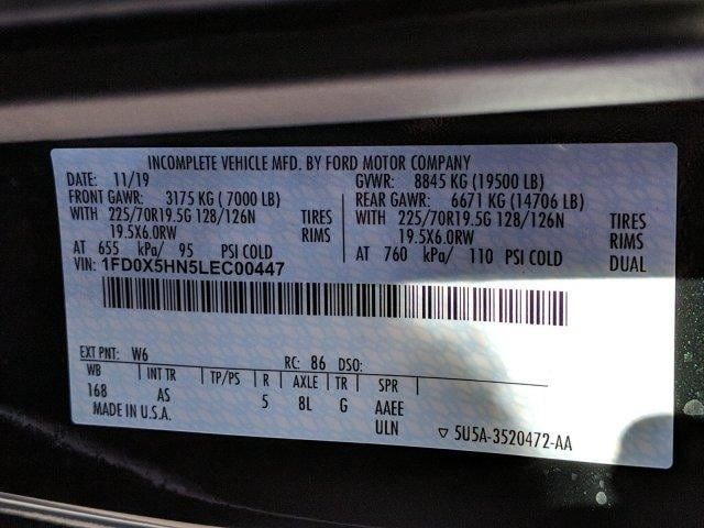 2020 Ford F-550 Super Cab DRW 4x4, Iroquois Brave Series Steel Dump Body #N9198 - photo 13