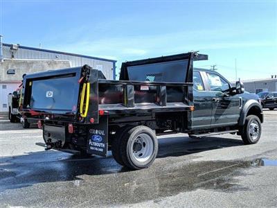 2020 Ford F-550 Super Cab DRW 4x4, Iroquois Brave Series Steel Dump Body #N9198 - photo 3