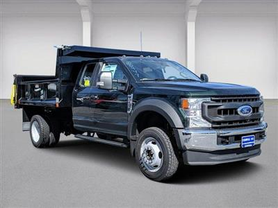 2020 Ford F-550 Super Cab DRW 4x4, Iroquois Brave Series Steel Dump Body #N9198 - photo 1