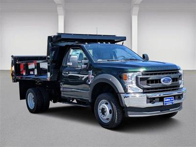 2020 Ford F-550 Regular Cab DRW 4x4, Iroquois Brave Series Steel Dump Body #N9201 - photo 1