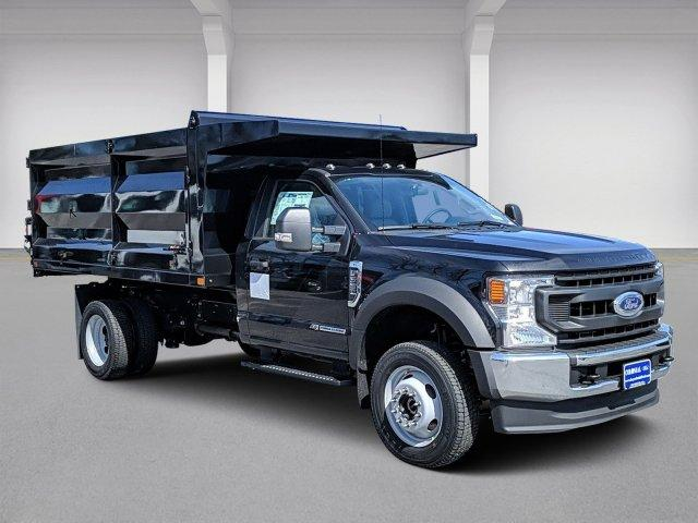 2020 F-550 Regular Cab DRW 4x4, Rugby Landscape Dump #N9213 - photo 2