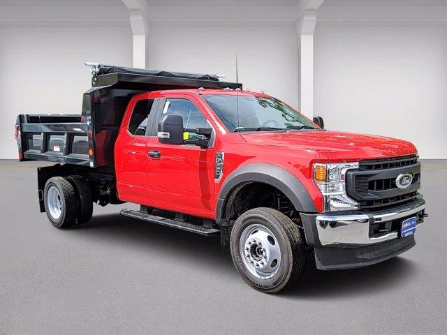 2020 Ford F-550 Super Cab DRW 4x4, Reading Marauder Dump Body #N9262 - photo 1