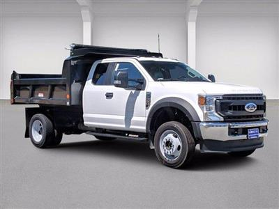 2020 Ford F-550 Super Cab DRW 4x4, Reading Marauder Dump Body #N9263 - photo 1