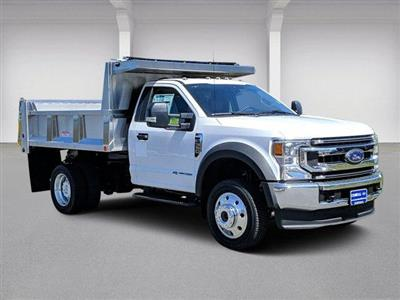 2020 Ford F-550 Regular Cab DRW 4x4, Iroquois Brave Series Stainless Steel Dump Body #N9283 - photo 1