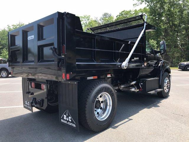 2021 Ford F-650 Regular Cab DRW 4x2, SH Truck Bodies Dump Body #N9303 - photo 7
