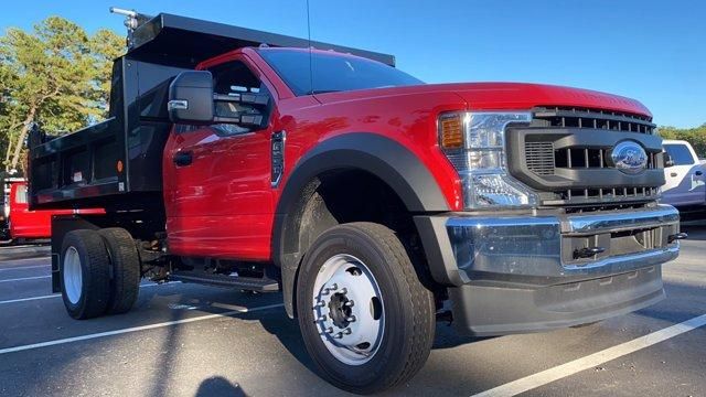 2020 Ford F-550 Regular Cab DRW 4x4, Reading Marauder Dump Body #N9306 - photo 1