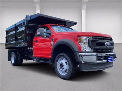 2020 Ford F-550 Regular Cab DRW 4x4, Rugby Landscape Dump #N9426 - photo 19