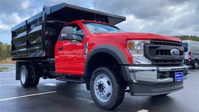 2020 Ford F-550 Regular Cab DRW 4x4, Rugby Landscape Dump #N9426 - photo 5