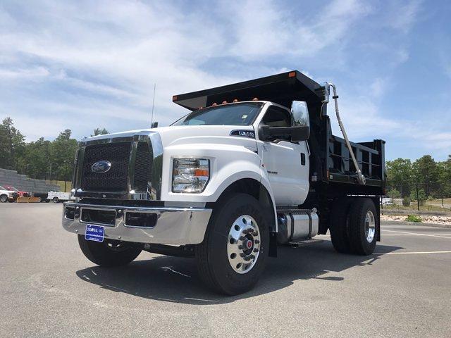 2021 Ford F-650 Regular Cab DRW 4x2, SH Truck Bodies Dump Body #N9455 - photo 1