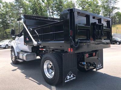 2021 Ford F-650 Regular Cab DRW 4x2, SH Truck Bodies Dump Body #N9455 - photo 2