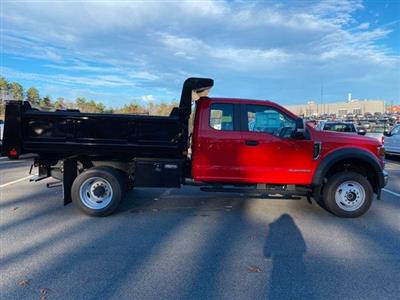 2020 Ford F-550 Super Cab DRW 4x4, Dump Body #N9682 - photo 8