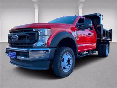 2020 Ford F-550 Super Cab DRW 4x4, Dump Body #N9682 - photo 33