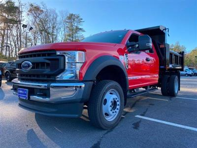 2020 Ford F-550 Super Cab DRW 4x4, Dump Body #N9682 - photo 1