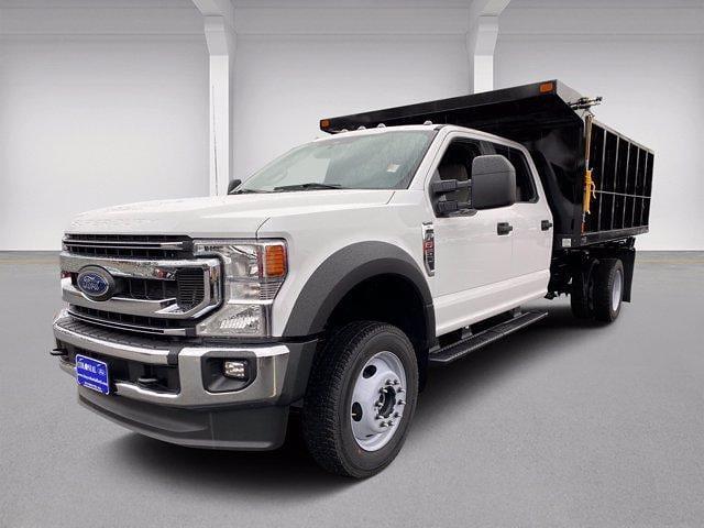 2021 Ford F-550 Crew Cab DRW 4x4, SH Truck Bodies Landscape Dump #N9727 - photo 27