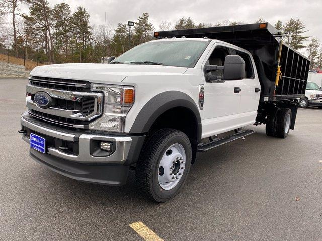 2021 Ford F-550 Crew Cab DRW 4x4, SH Truck Bodies Landscape Dump #N9727 - photo 1
