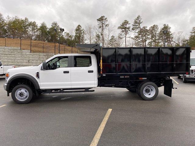 2021 Ford F-550 Crew Cab DRW 4x4, SH Truck Bodies Landscape Dump #N9727 - photo 3