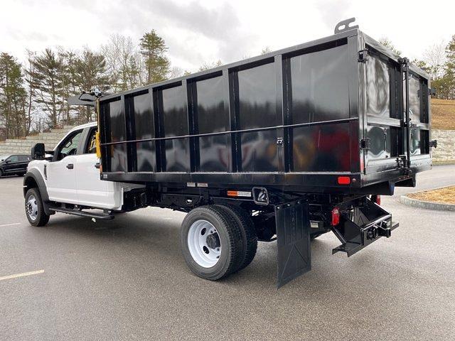 2021 Ford F-550 Crew Cab DRW 4x4, SH Truck Bodies Landscape Dump #N9727 - photo 2