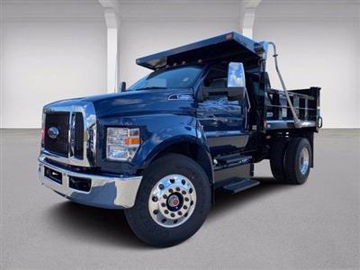 2021 Ford F-650 Regular Cab DRW 4x2, SH Truck Bodies Dump Body #N9751 - photo 1