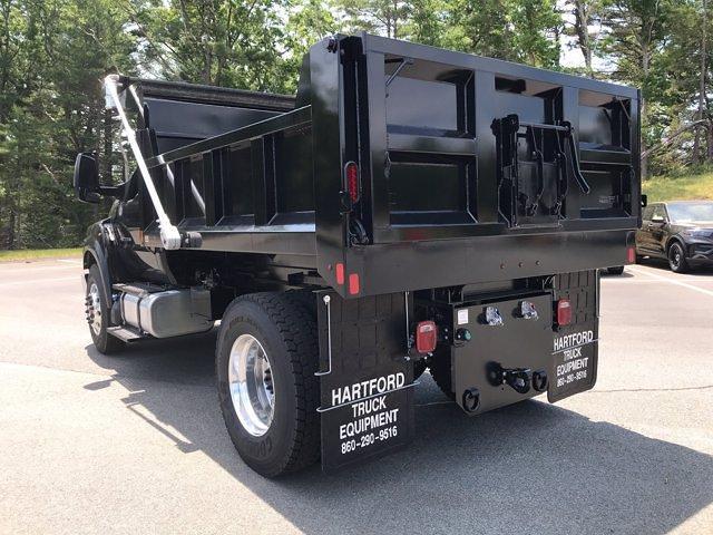 2021 Ford F-650 Regular Cab DRW 4x2, SH Truck Bodies Dump Body #N9817 - photo 1