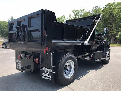 2021 Ford F-650 Regular Cab DRW 4x2, SH Truck Bodies Dump Body #N9817 - photo 7