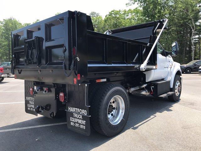 2021 Ford F-650 Regular Cab DRW 4x2, SH Truck Bodies Dump Body #N9818 - photo 7