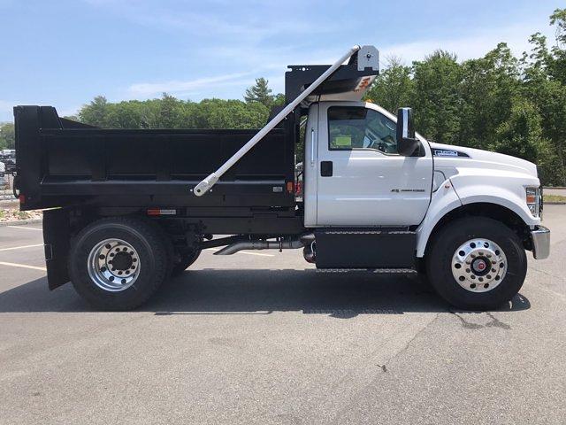 2021 Ford F-650 Regular Cab DRW 4x2, SH Truck Bodies Dump Body #N9818 - photo 8