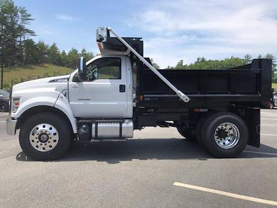 2021 Ford F-650 Regular Cab DRW 4x2, SH Truck Bodies Dump Body #N9818 - photo 4