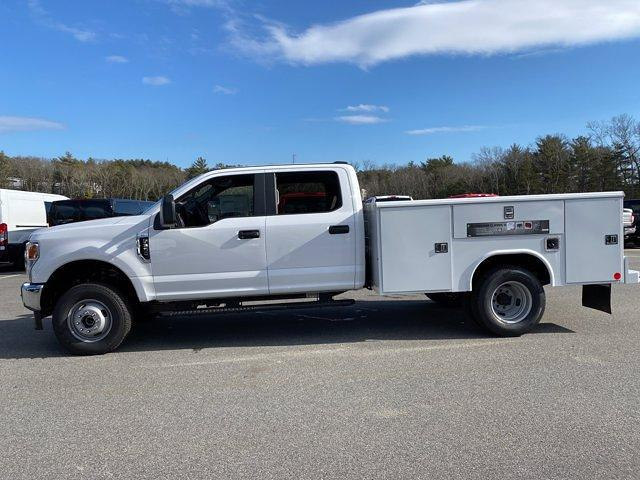 2021 Ford F-350 Crew Cab DRW 4x4, Reading Classic II Aluminum  Service Body #N9824 - photo 5