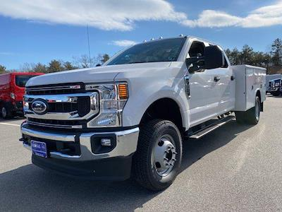 2021 Ford F-350 Crew Cab DRW 4x4, Reading Classic II Aluminum  Service Body #N9824 - photo 4