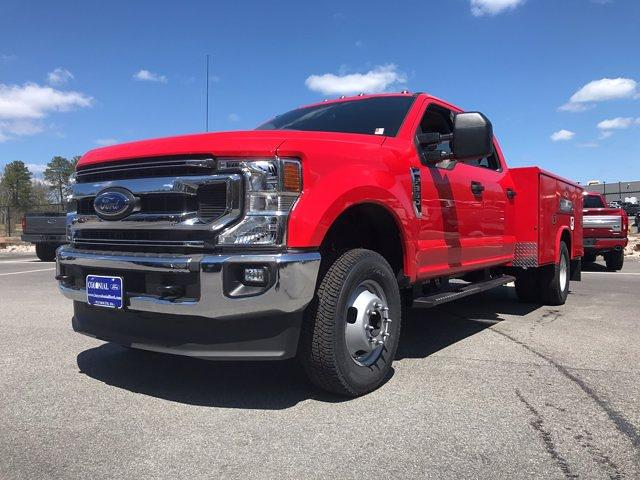 2021 Ford F-350 Crew Cab DRW 4x4, Reading Classic II Steel Service Body #N9838 - photo 3