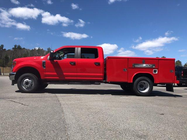 2021 Ford F-350 Crew Cab DRW 4x4, Reading Classic II Steel Service Body #N9838 - photo 4