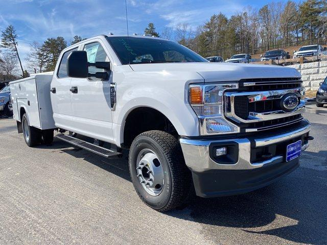 2021 Ford F-350 Crew Cab DRW 4x4, Reading Classic II Aluminum  Service Body #N9839 - photo 26
