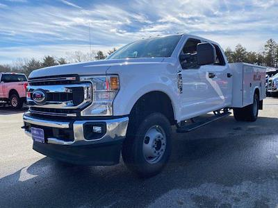 2021 Ford F-350 Crew Cab DRW 4x4, Reading Classic II Aluminum  Service Body #N9839 - photo 3