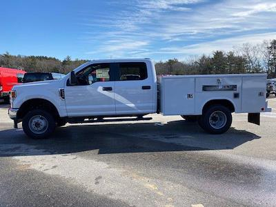 2021 Ford F-350 Crew Cab DRW 4x4, Reading Classic II Aluminum  Service Body #N9839 - photo 4