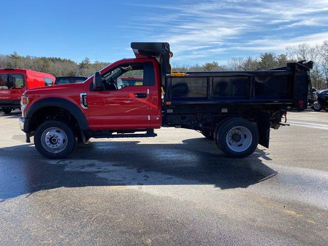 2021 Ford F-550 Regular Cab DRW 4x4, Air-Flo Pro-Class Dump Body #N9858 - photo 4